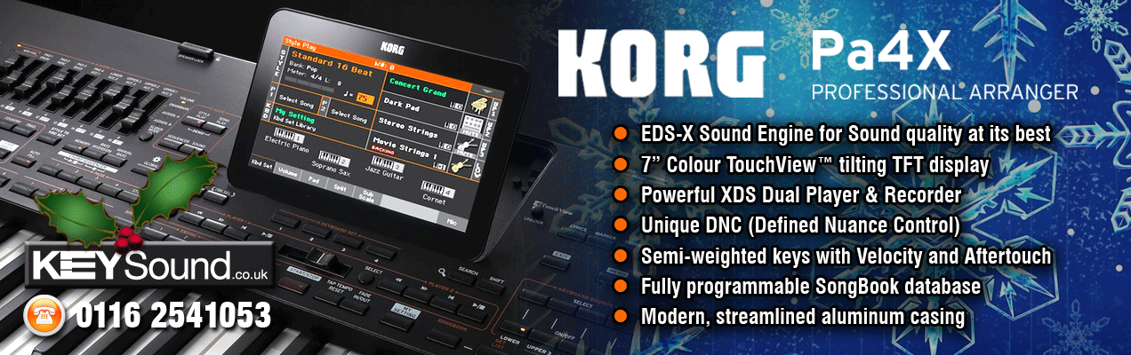 Korg Presents the PA4X, with the new MIDI Style converter a fantastic new keyboard.