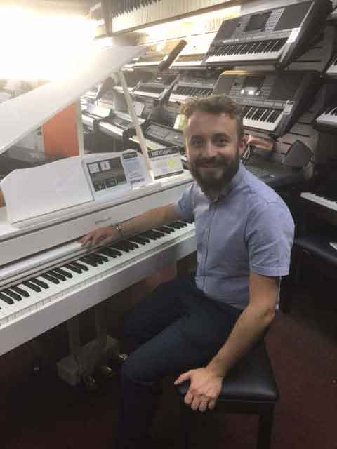 Chris White Piano and Keyboard Teacher