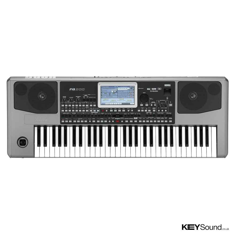Korg PA900 Professional Arranger Keyboard in Silver