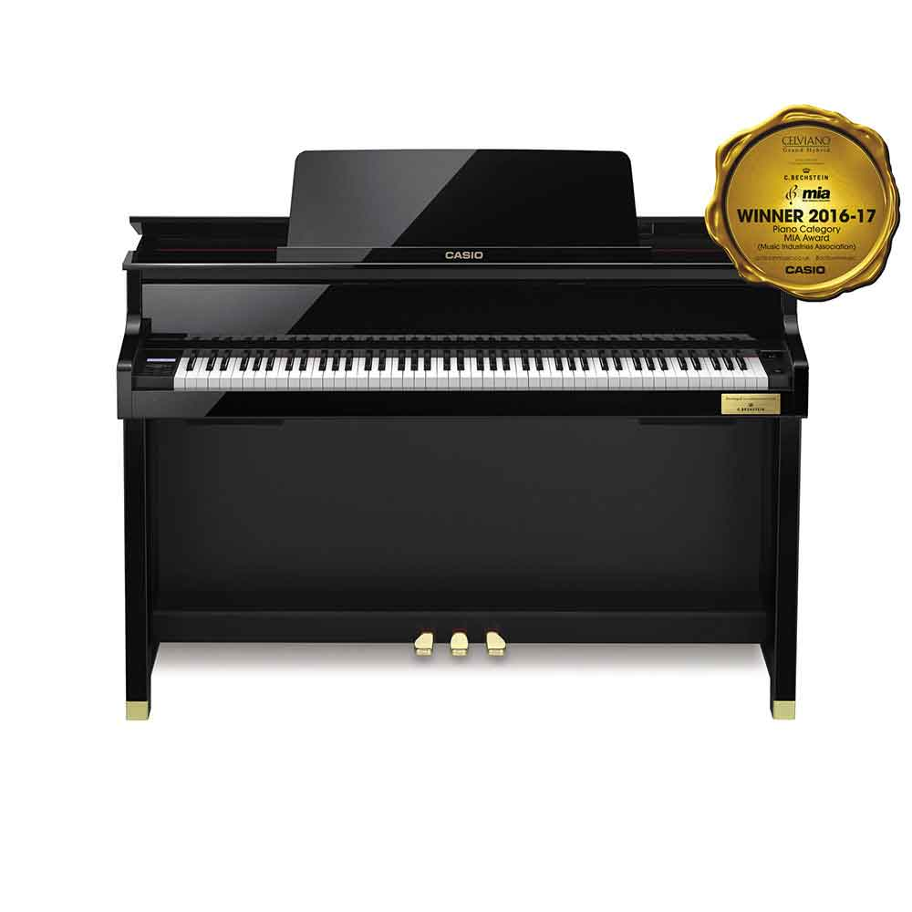 Casio GP500 Celviano Grand Hybrid Digital Piano in Polished Black