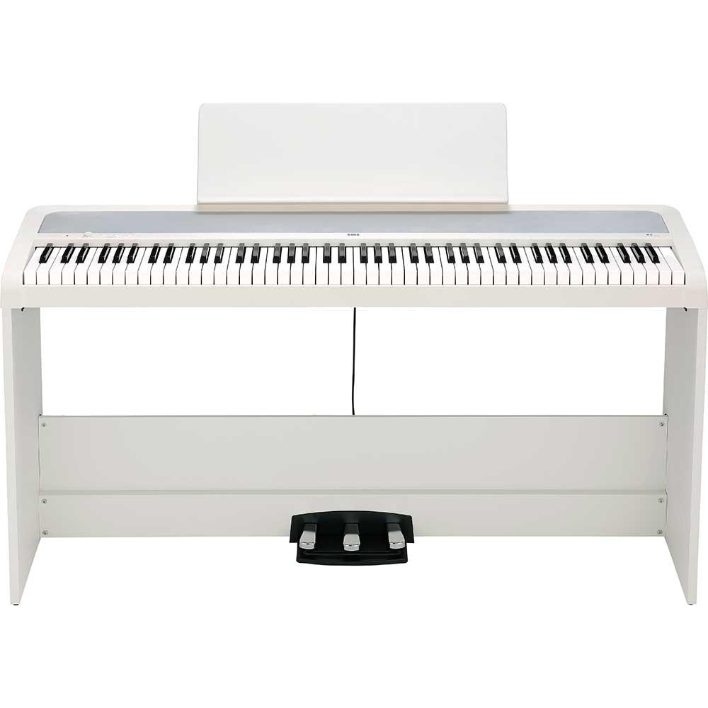 korg b2sp in white digital piano korg specialist. Black Bedroom Furniture Sets. Home Design Ideas
