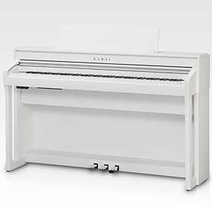 >Kawai CA78 Digital Piano in Satin White