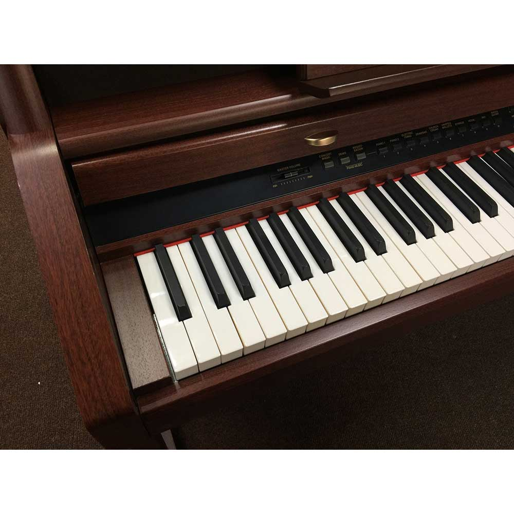 used kawai ca9 digital piano in mahogany uk kawai dealer piano and keyboard specialist. Black Bedroom Furniture Sets. Home Design Ideas
