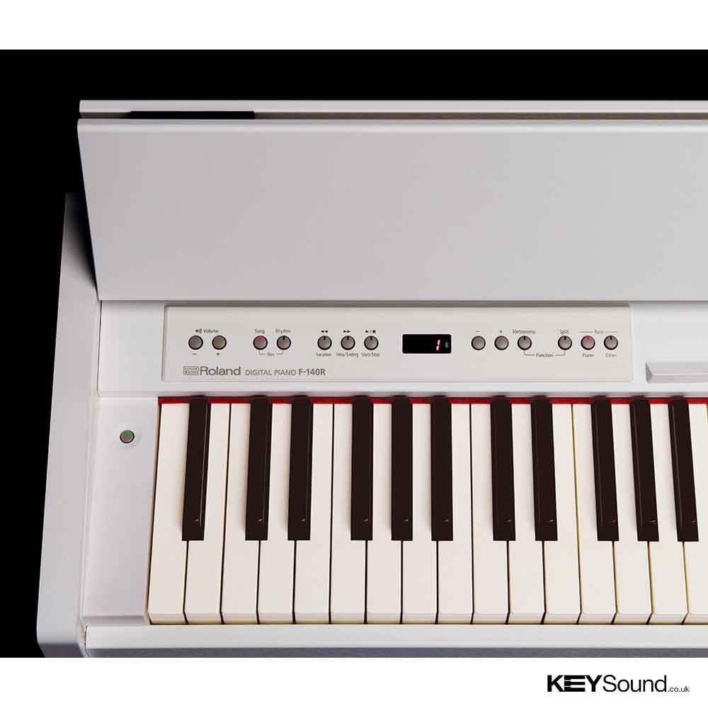 roland f 140r wh digital piano roland digital piano experts keysound leicester. Black Bedroom Furniture Sets. Home Design Ideas