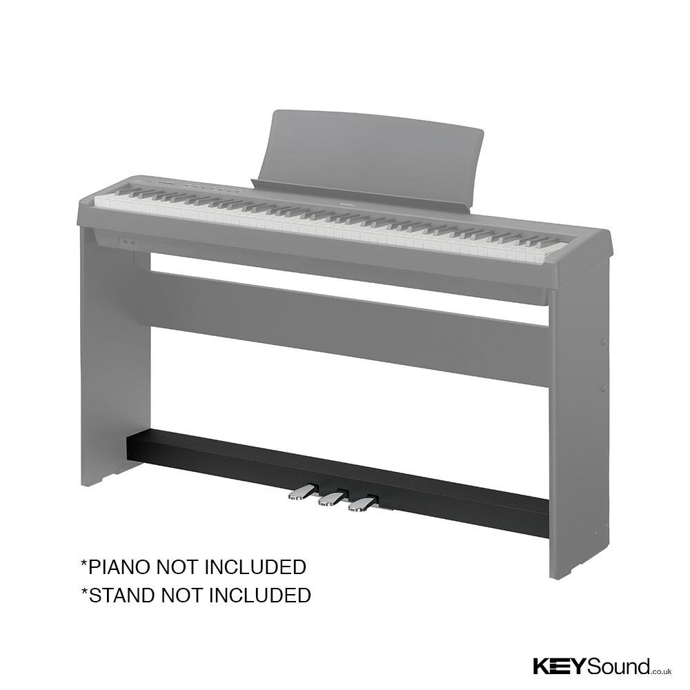 kawai f350 b three pedal unit keysound piano keyboard shop. Black Bedroom Furniture Sets. Home Design Ideas