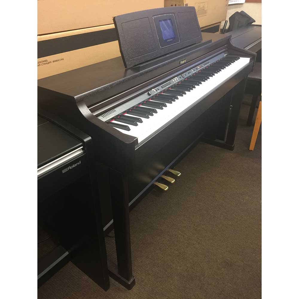 used roland hpi6s digital piano roland digital piano experts. Black Bedroom Furniture Sets. Home Design Ideas