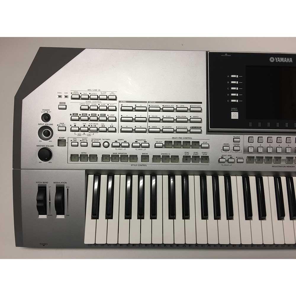 Used Yamaha Tyros2 Keyboard Includes MS02 Speakers