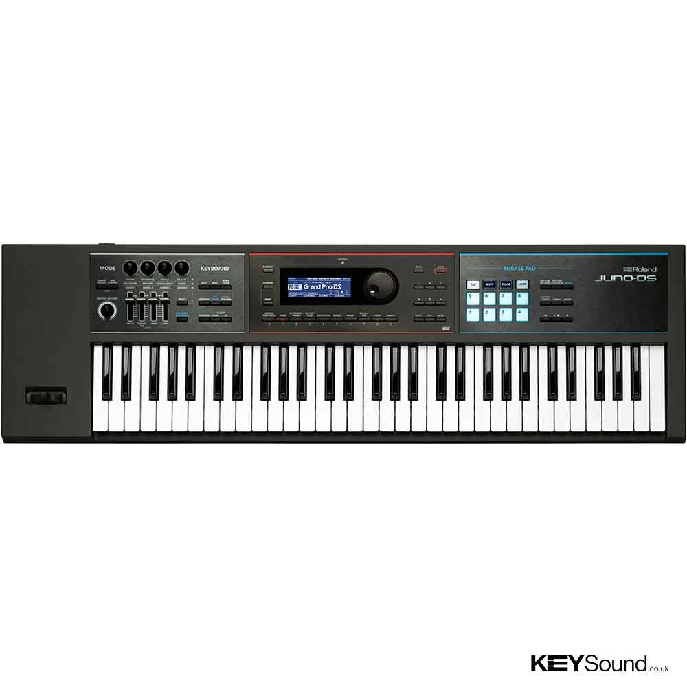 Roland Juno DS61 Synthesizer in Black