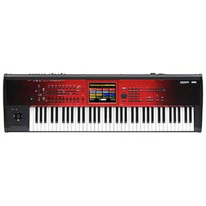 Korg New Kronos Music Workstation 73 Keys Special Edition in Red