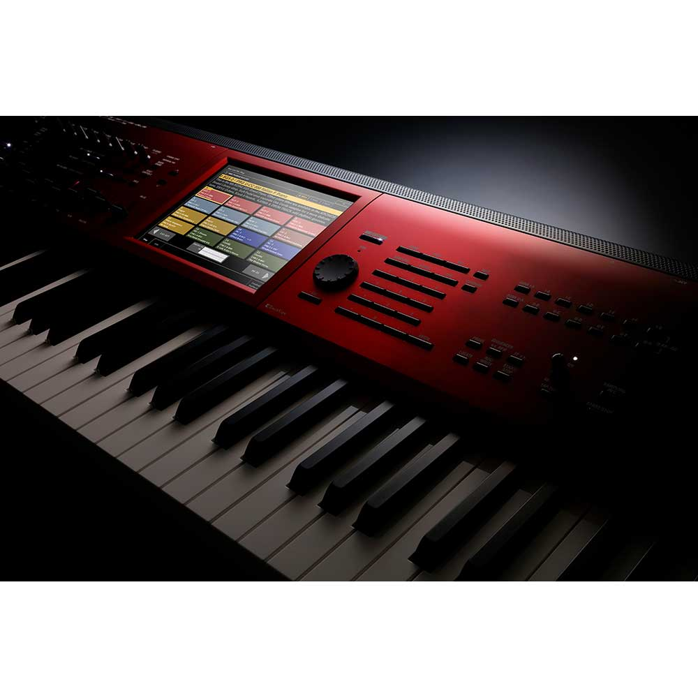 Korg New Kronos Music Workstation 88 Keys Special Edition in Red
