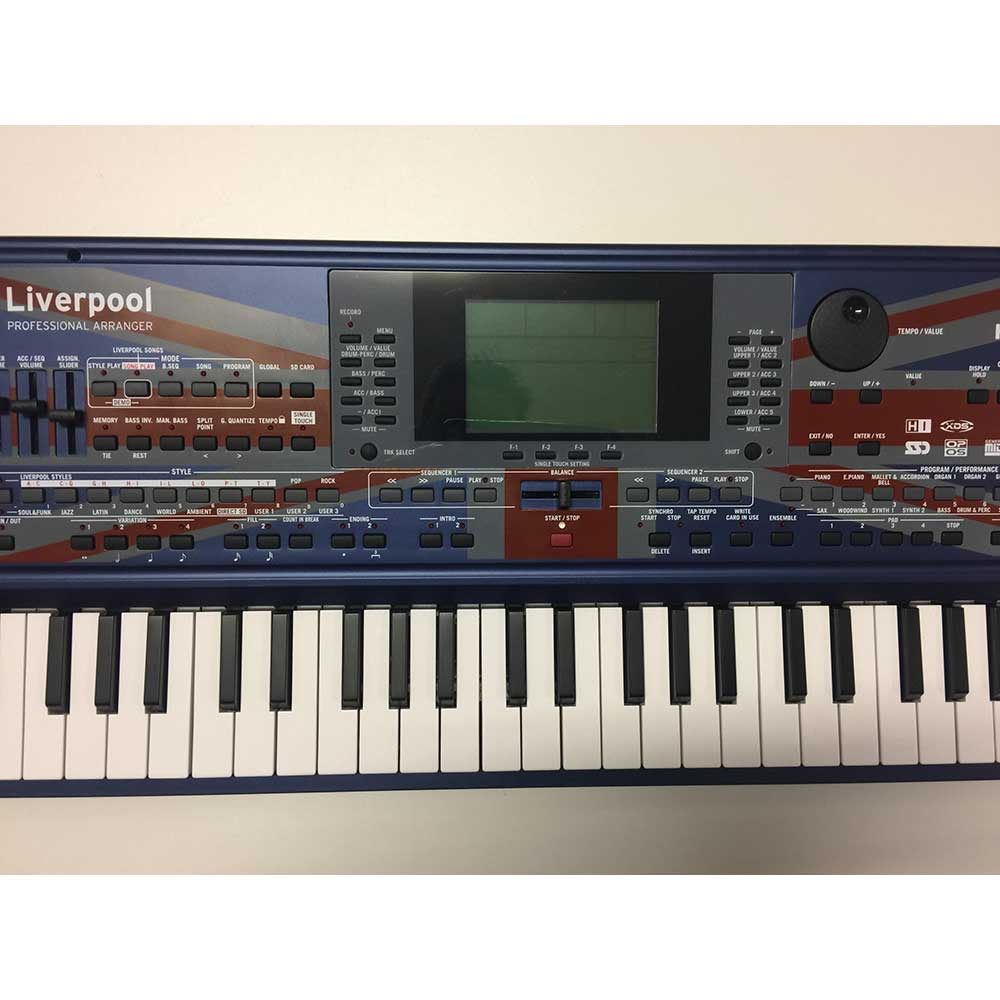 Used Korg Liverpool Professional Arranger Keyboard | Call the Korg