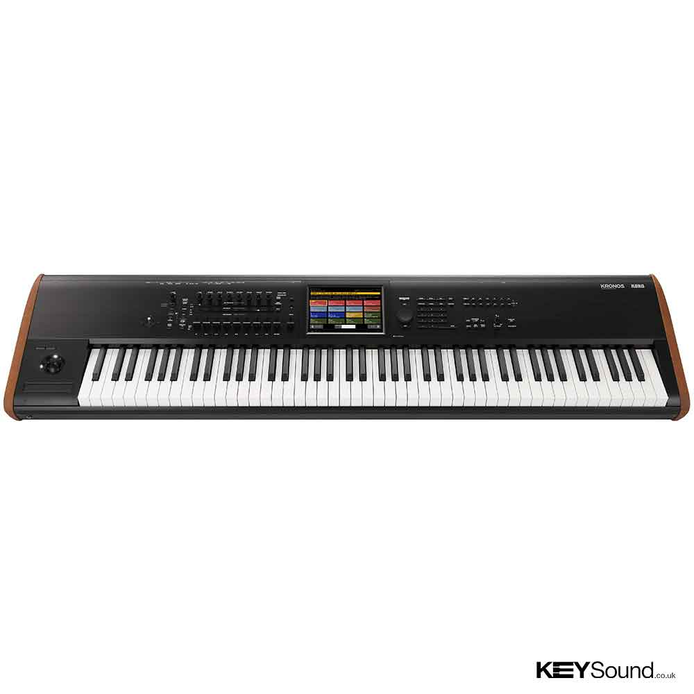 Korg New Kronos Music Workstation 88 Keys in Black and Wood