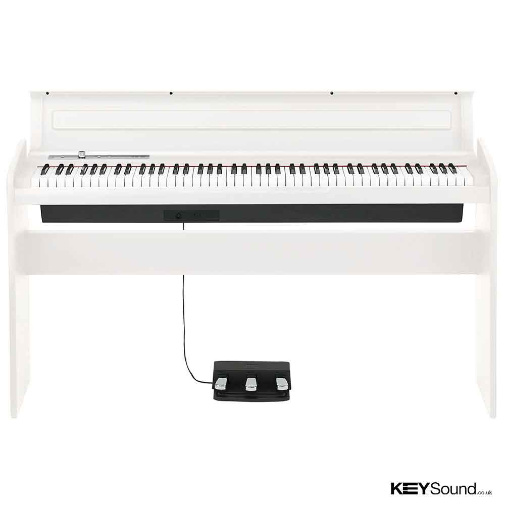 Korg lp180 wh digital piano keysound leicester midlands for Korg or yamaha digital piano