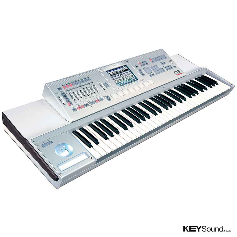 Korg Pre-Owned M3 XPanded Music Workstation in White and Silver