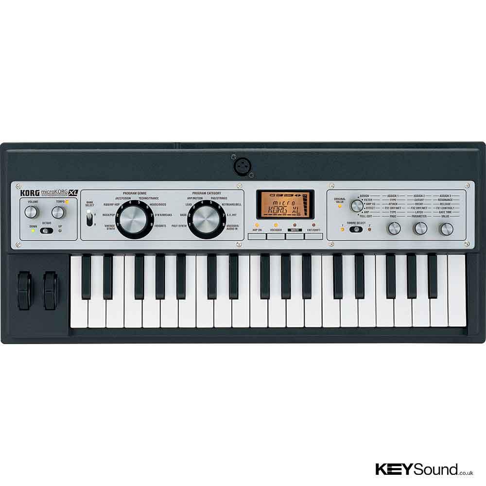 Pre-Owned Korg microKorg XL   Keysound   Piano & Keyboard Shop