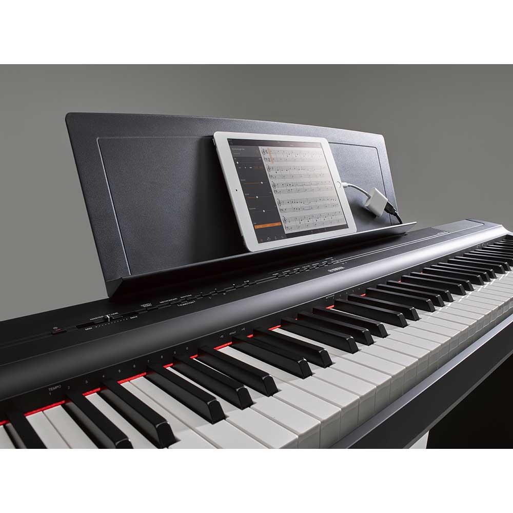 yamaha p125 b digital piano yamaha digital piano experts. Black Bedroom Furniture Sets. Home Design Ideas