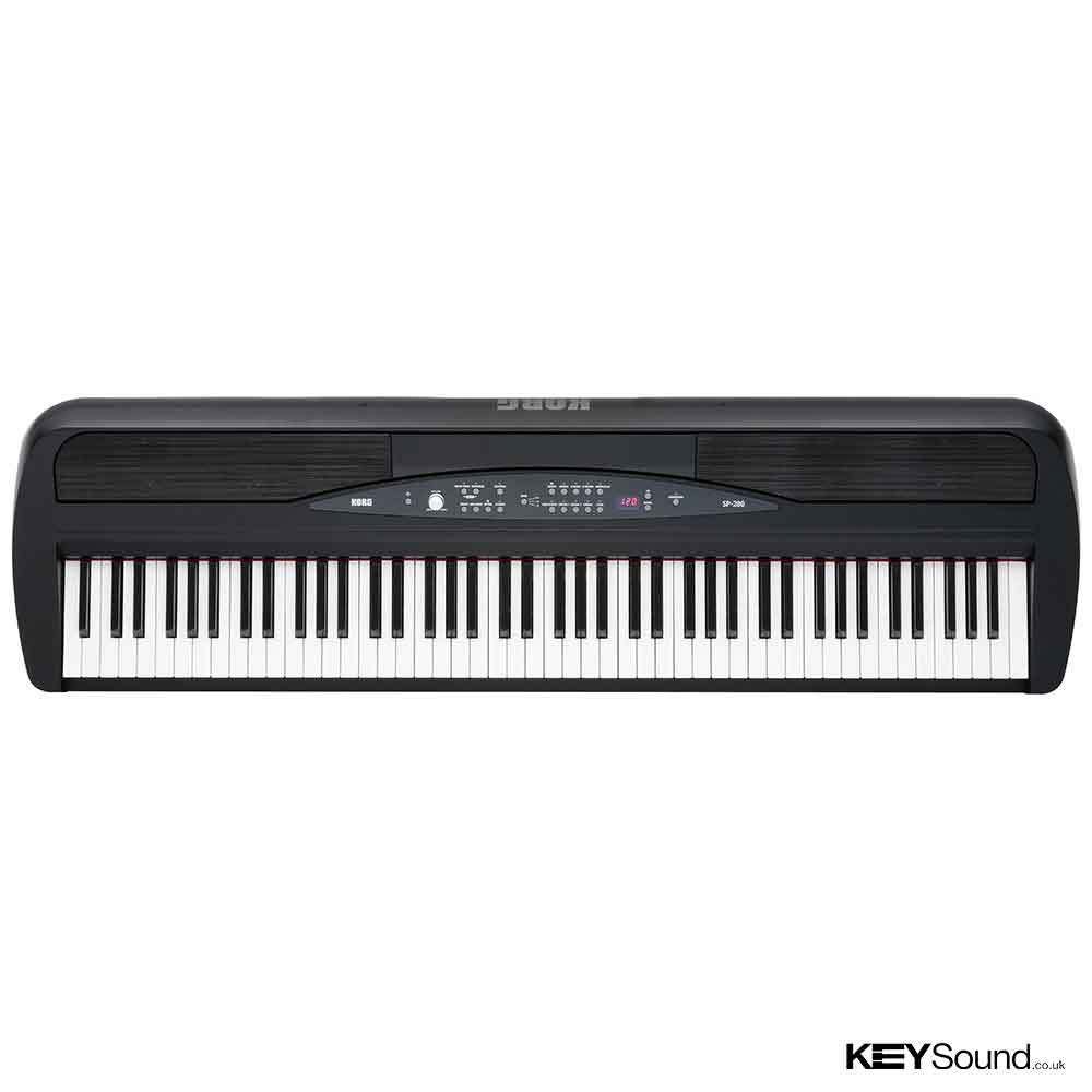 Korg SP280 Digital Piano in Black