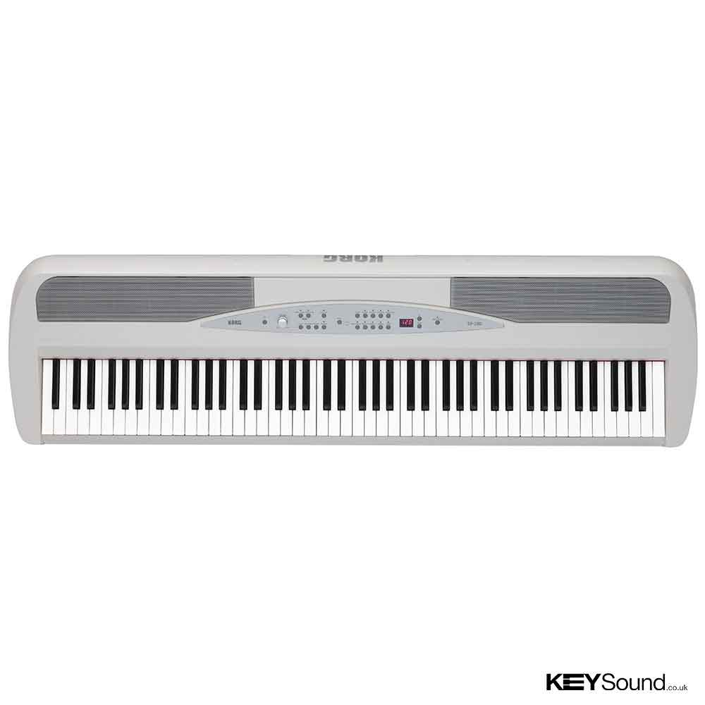 korg sp 280 wh digital piano keysound piano keyboard shop. Black Bedroom Furniture Sets. Home Design Ideas