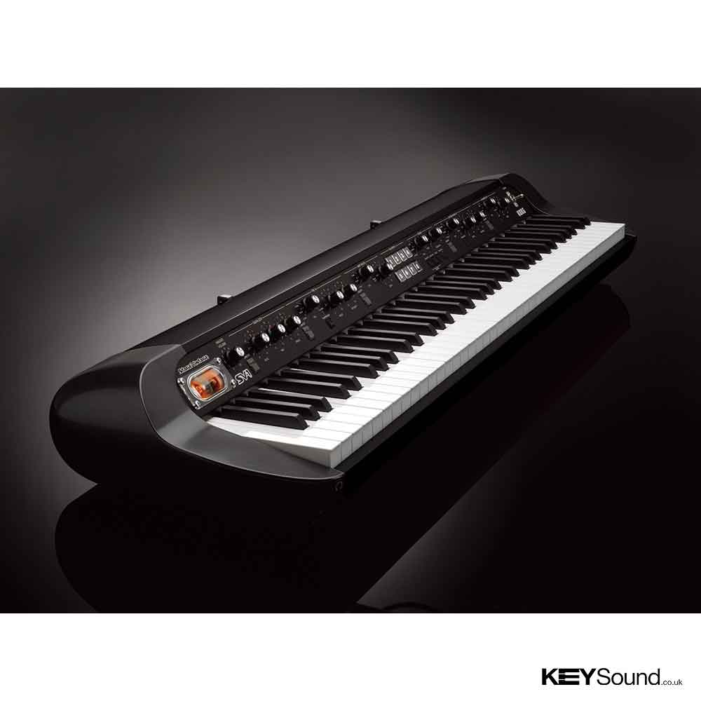 Korg sv1 73 bk digital piano keysound piano keyboard for Korg or yamaha digital piano