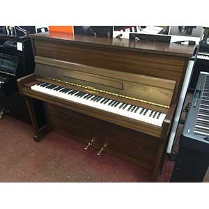 Broadwood and Sons Pre-Owned Acoustic Piano in Satin Mahogany