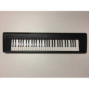 Yamaha NP11 Piano-Style Keyboard in Black