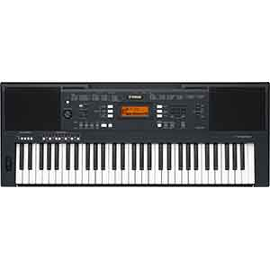 Yamaha PSRA350 Keyboard in Black