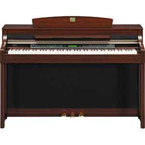 Yamaha Pre-Owned CLP380 Digital Piano in Polished Mahogany
