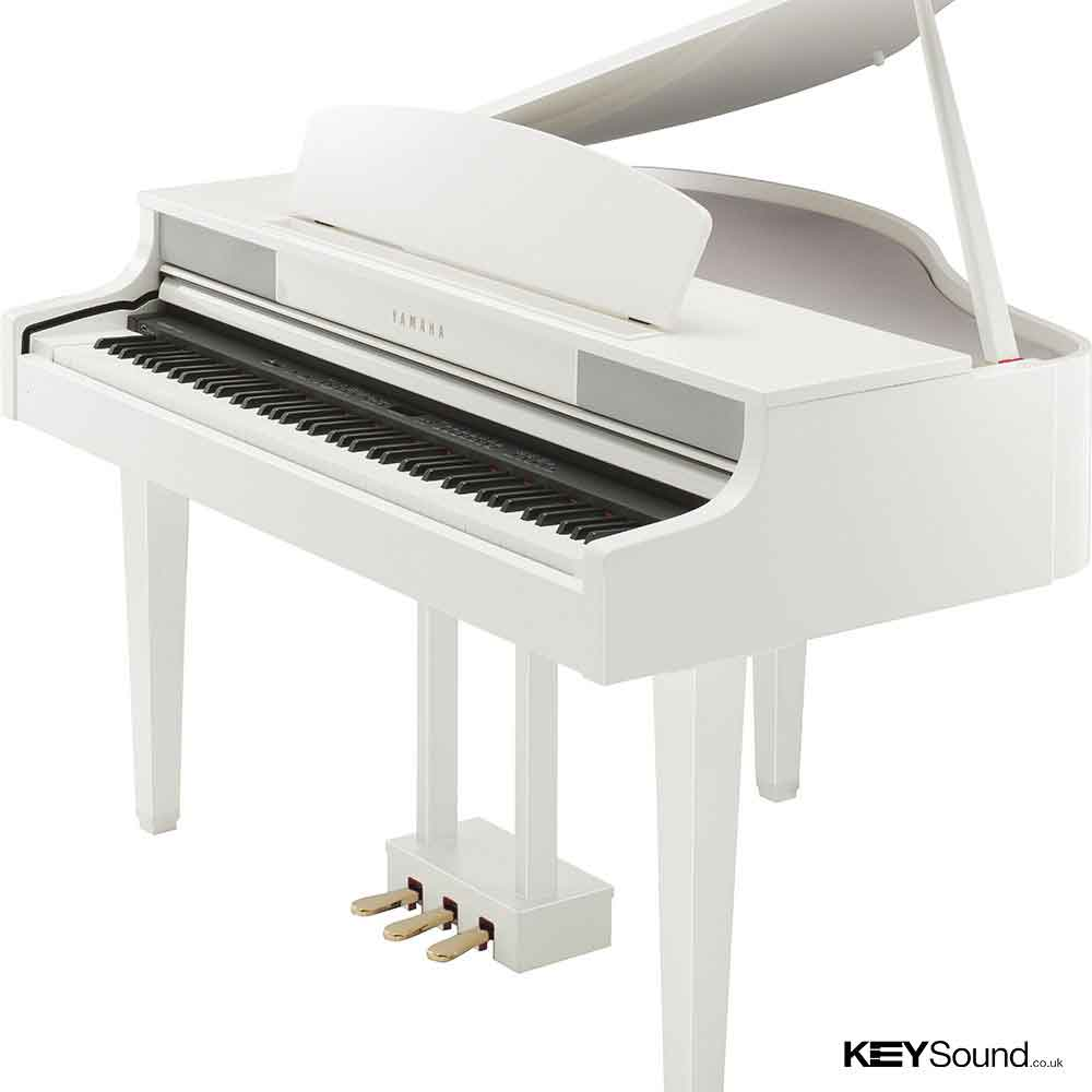 Yamaha clp 465gp digital piano keysound piano for White yamaha piano