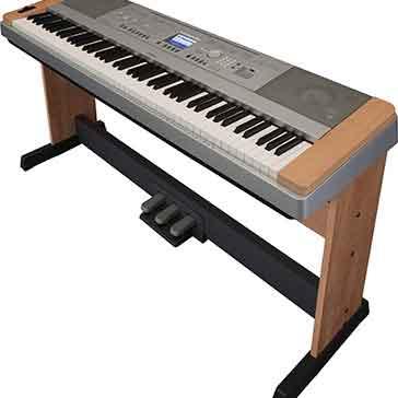 Yamaha dgx640 cherry digital piano keysound piano for Yamaha dgx640c digital piano cherry
