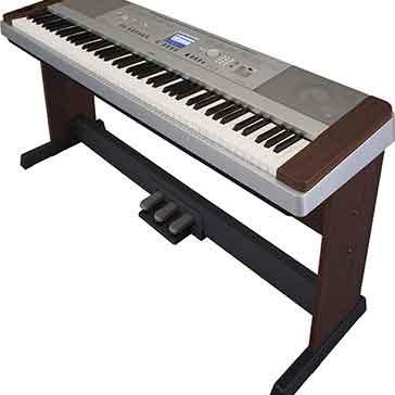 yamaha dgx640 walnut digital piano keysound piano. Black Bedroom Furniture Sets. Home Design Ideas