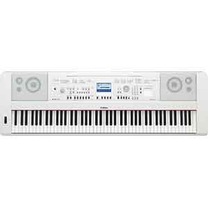 Yamaha DGX650 Digital Piano in White