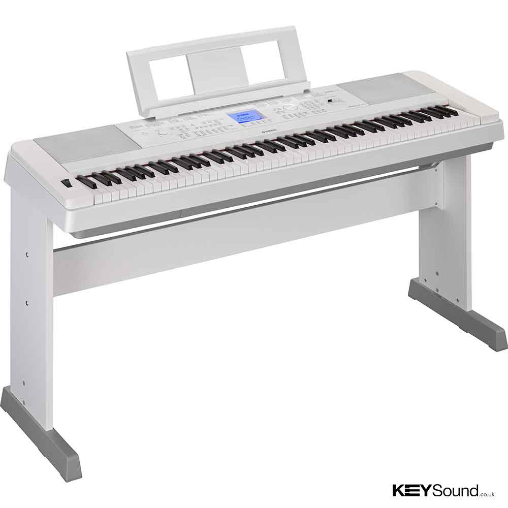 Yamaha DGX660 Digital Piano in White