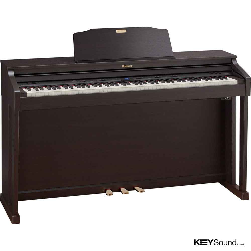 used roland hp504 rw digital piano roland digital piano experts. Black Bedroom Furniture Sets. Home Design Ideas