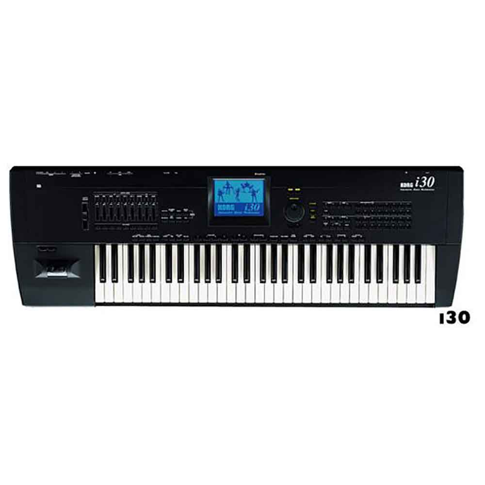 Used I30 HD Korg Interactive Music Workstation | Korg Keyboard