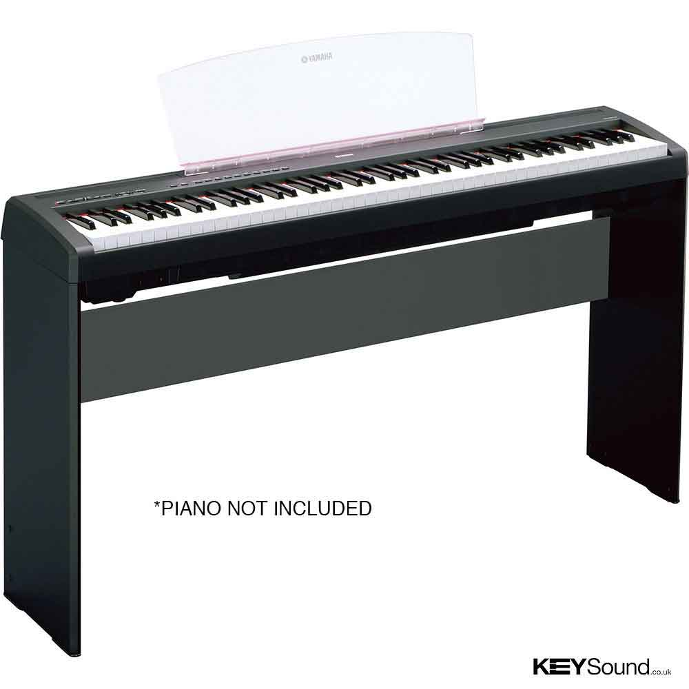 Yamaha l 85 b stand piano keyboard specialist music shop for Yamaha p 35 digital piano
