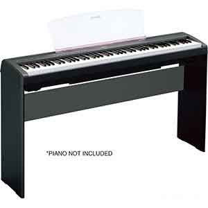 Yamaha l 85 b stand piano keyboard specialist music shop for Yamaha p115 piano