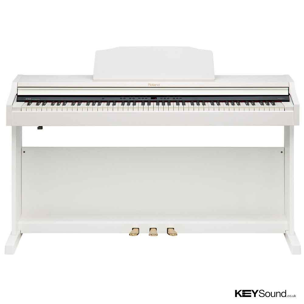 Roland RP301R WH Digital Piano | Piano Shop | Leicester Midlands