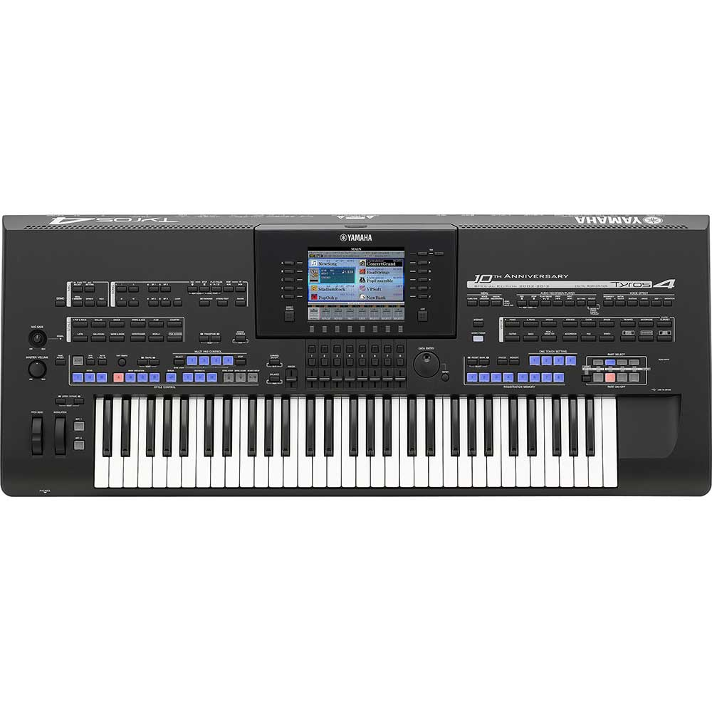 used yamaha tyros 4 se xl keyboard includes trs ms04. Black Bedroom Furniture Sets. Home Design Ideas