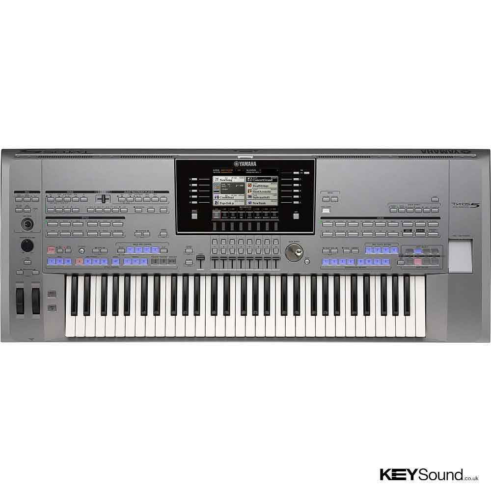 Yamaha tyros 5 61 keys arranger workstation piano for Www yamaha keyboards