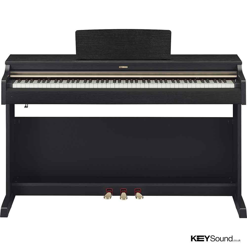 Yamaha ydp 162 bw digital piano keysound piano for Digital piano keyboard yamaha